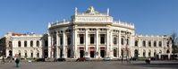 Das 1888 eröffnete Burgtheater an der Wiener Ringstraße