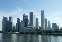 Skyline von Singapur, 2009