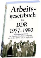 Arbeitsgesetzbuch DDR 1977-1990 Verlag Rockstuhl (Symbolbild)