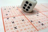 6er im Lotto (Symbolbild)