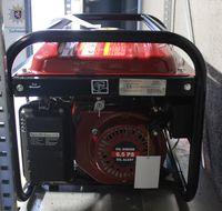 Sichergestellter Generator Bild: Polizei