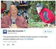"Bild: Screenshot Twitter-Account der ""Daily Mail"""