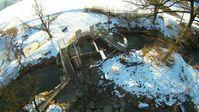 Flugaufnahme Wasserwirbelsystem Dr. Bertrand Piccard Schöftland. Bild: gwwk