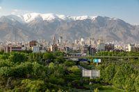 Skyline von Teheran