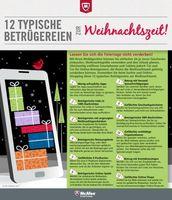 """Vorsicht beim Weihnachtsshopping. 12 fiese Ganoven-Tricks und wie man sich davor schützen kann. Bild: """"obs/McAfee"""""""
