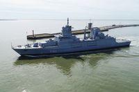 """Am 02.06.2020 ist die Fregatte """"Nordrhein-Westfalen"""" aus ihrem zukünftigen Heimathafen ausgelaufen. Bild: Bundeswehr"""