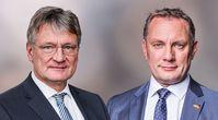 Jörg Meuthen und Tino Chrupalla (2021)