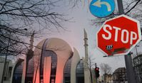 DITIB Zentralmoschee in Köln (Symbolbild)
