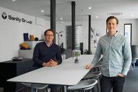 Die Gründer der Sanity Group, Finn Hänsel und Fabian Friede Bild: Sanity Group GmbH Fotograf: Norman Posselt