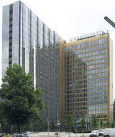 Axel-Springer Verlagshaus in Berlin, seit März 2008 neuer Hauptsitz der Bild-Redaktion