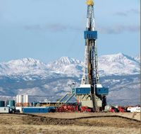 Fracking: Schiefergasbohrung im Pinedale Anticline