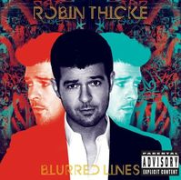 Robin Thicke Unwraps 'Blurred Lines' Cover