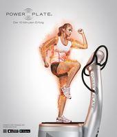 Fatburner mit Power Plate  Bild: Power Plate GmbH Fotograf: Power Plate GmbH