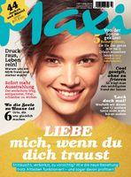 "Maxi Cover 10/2018 / Bild: ""obs/Bauer Media Group, Maxi"""