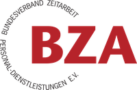 Vereinslogo des Bundesverband Zeitarbeit Personal-Dienstleistungen e.V. (BZA)