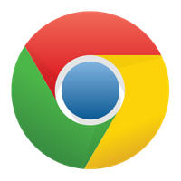 Google Chrome Logo seit Version 11 (April 2011)