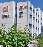 ProSiebenSat.1 TV Deutschland (Detailansicht) in Unterföhring, Deutschland. Bild: Florian Hurlbrink / de.wikipedia.org