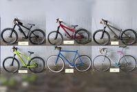 Wer erkennt sein Fahrrad wieder(von links nach rechtsobere Reihe: Transalp - Specialized - Giantuntere Reihe: Bergamont Revox - Leader - Benotto Bild: Polizei