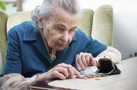 Rente: Für die meisten soviel das sie gerade nicht verhungern.