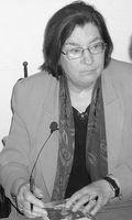 Die Schriftstellerin Christa Wolf während einer Buchlesung in Berlin-Mitte, März 2007. Bild: SpreeTom  / wikipedia.org