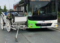 Unfall mit Hochzeitskutsche Bild: Polizei