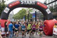 """Der Start des Santander Marathon 2018. Bild: """"obs/Santander Consumer Bank AG/Matthias Sandmann"""""""