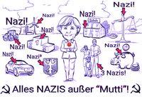 Angela Merkel steht mittlerweile nicht nur bei ihren Untergebenen in der Kritik (Symbolbild)