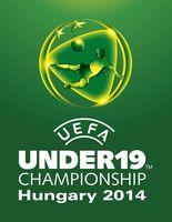Logo der U-19-Fußball-Europameisterschaft 2014