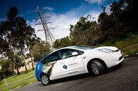 Hybridauto und Stromnetz - das perfekte Team? Bild: CSIRO