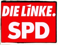 Die Linke SPD Koalition (Symbolbild)