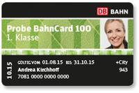 BahnCard 100 Bild: bahn.de