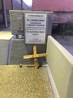 """Kreuz mit Morddrohung. Bild: """"obs/AfD - Alternative für Deutschland"""""""