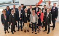 Referent_innen und Organisator_innen der AgriFood 4.0 mit Ministerin Barbara Otte-Kinast (Mitte). Quelle: KFoto/Kokenge (idw)