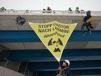 Kletterer / Bild: greenpeace.de