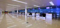 Leerer Flughafen (Symbolbild)
