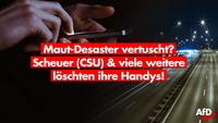 Schon wieder: Handylöschung durch Merkel-Minister