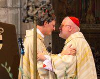 Erzbischof Woelki (li) und Reinhard Kardinal Marx (re) (2014), Archivbild