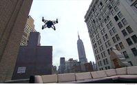 Drohne inmitten von New York: CNN erhält FAA-Erlaubnis. Bild: money.cnn.com