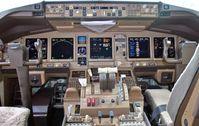 MH370: Armaturen im Cockpit