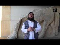 """Screenshot aus dem Youtube Video """"ISIS zerstört Kulturgüter von Jahrtausendenüber torchbrowser com"""""""