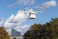 Volocopter Drohnentransport