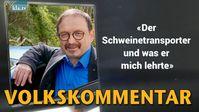 """Bild: Screenshot Video: """" Der Schweinetransporter und was er mich lehrte"""" (www.kla.tv/19020) / Eigenes Werk"""