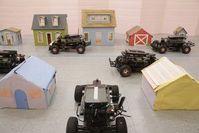 Testfahrten des MIT in einer Spielzeugstadt.