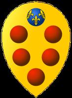 Wappen der Medici: Sie waren eine der ersten bekannten Bankhausinhaber Europas (Symbolbild)