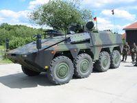 Gepanzerte Transport-Kraftfahrzeug, kurz GTK Boxer. Bild: wikipedia.org