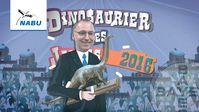 """Auszeichnung """"Dinosaurierer des Jahres 2016"""" vom NABU"""