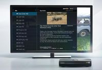 VideoWeb TV Anzeige mit Zattoo HD. Bild: VideoWeb
