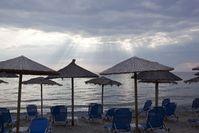 Morgen an der olympischen Riviera. Bild: Wolfgang Weitlaner