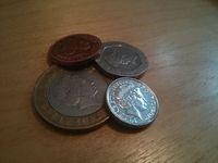 Britisches Kleingeld: Münzen könnten bald abgelöst werden. Bild: F. Fügemann