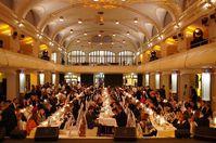 Der Festsaal des denkmalgeschützten Portland Forums in Leimen. Bild: kinderwelten